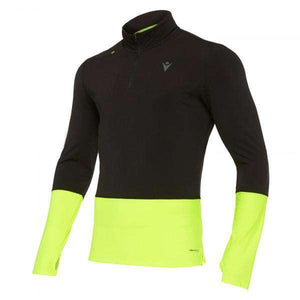MAILLOT RUNNING POUR HOMME A MANCHES LONGUES  CLAYTON -MACRON- - sportium store