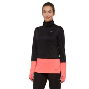 MAILLOT RUNNING A COL MONTANT POUR FEMME DENISE -MACRON- - sportium store