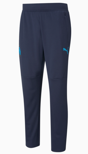 PANTALON DE FOOTBALL PUMA  PEACOAT-BLEU AZUR