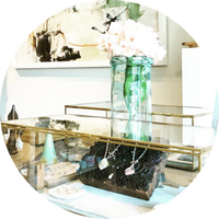 Orlando gift boutique featuring locally made goods, artisan jewelry and fine art. Workshops and classes on jewelry making for individuals and groups.
