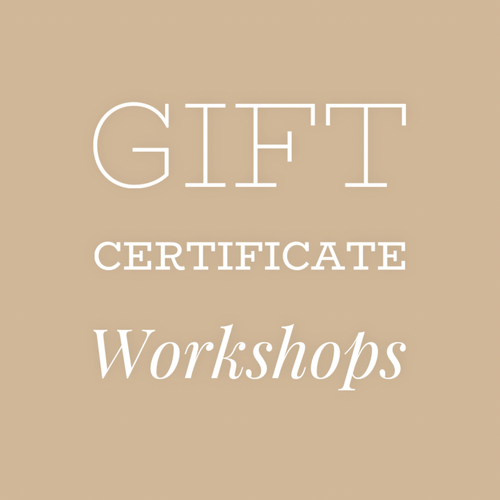 Gift Card for Jewelry Making Workshops