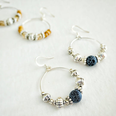 Boho Bead Hoop Earring Workshop
