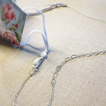 Load image into Gallery viewer, Mask Necklace - Silver Chain
