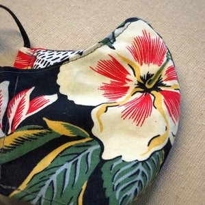 Mask (Lrg) - Vintage Hawaiian