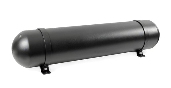 5.0 Gallon MOA Seamless Aluminium Satin Black Air Tank (5x NPT Ports, 200 PSI Rated)
