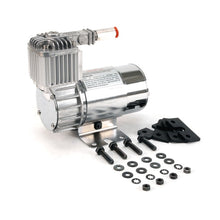 100C Chrome Compressor Kit w/ Omega Mounting Bracket (12V, 15% Duty, Sealed)