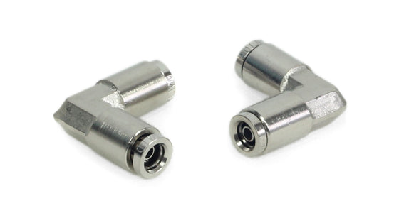 "1/4"" to 1/4"" 90 Degree Elbow Union (2 pcs) DOT Approved"