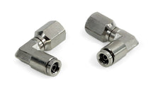 "1/8"" NPT(F) to 1/4"" Airline 90 Degree Swivel Elbow Fitting (2 pcs) DOT Approved"