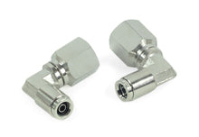 "1/4"" NPT(F) to 1/4"" Airline 90 Degree Swivel Elbow Fitting (2 pcs) DOT Approved"
