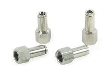 "1/4"" NPT(F) to 1/4"" Airline Straight Fitting (4 pcs) DOT Approved"