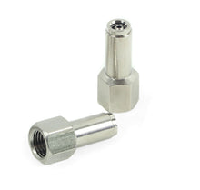 "1/4"" NPT(F) to 1/4"" Airline Straight Fitting (2 pcs) DOT Approved"