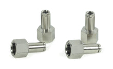 "3/8"" NPT(F) to 1/4"" Airline Straight Fitting (4 pcs) DOT Approved"