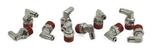 "3/8"" NPT(M) to 1/8"" Airline 90 Degree Swivel Elbow Fitting (10 pcs) DOT Approved"