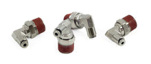 "3/8"" NPT(M) to 1/8"" Airline 90 Degree Swivel Elbow Fitting (4 pcs) DOT Approved"