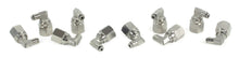 "1/8"" NPT(F) to 1/8"" Airline 90 Degree Swivel Elbow Fitting (10 pcs) DOT Approved"