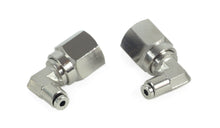 "1/8"" NPT(F) to 1/8"" Airline 90 Degree Swivel Elbow Fitting (2 pcs) DOT Approved"
