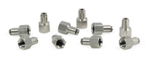 "1/8"" NPT(F) to 1/8"" Airline Straight Fitting (10 pcs) DOT Approved"