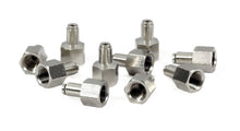 "1/4"" NPT(F) to 1/8"" Airline Straight Fitting (10 pcs) DOT Approved"