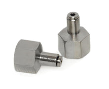 "3/8"" NPT(F) to 1/8"" Airline Straight Fitting (2 pcs) DOT Approved"
