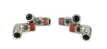 "1/4"" NPT(M) to 3/8"" Airline 90 Degree Swivel Elbow Fitting (4 pcs) DOT Approved"