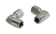 "1/8"" NPT(F) to 3/8"" Airline 90 Degree Swivel Elbow Fitting (2 pcs) DOT Approved"