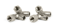 "1/4"" NPT(F) to 3/8"" Airline 90 Degree Swivel Elbow Fitting (4 pcs) DOT Approved"