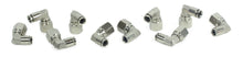 "3/8"" NPT(F) to 3/8"" Airline 90 Degree Swivel Elbow Fitting (10 pcs) DOT Approved"