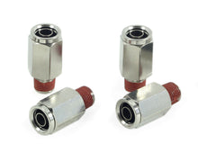 "1/8"" NPT(M) to 3/8"" Airline Straight Fitting (4 pcs) DOT Approved"
