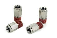 "1/4"" NPT(M) to 3/8"" Airline Straight Fitting (4 pcs) DOT Approved"