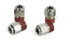 "3/8"" NPT(M) to 3/8"" Airline Straight Fitting (4 pcs) DOT Approved"