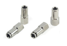 "1/4"" NPT(F) to 3/8"" Airline Straight Fitting (4 pcs) DOT Approved"