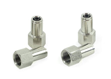 "3/8"" NPT(F) to 3/8"" Airline Straight Fitting (4 pcs) DOT Approved"
