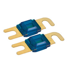 Mini ANL Fuse Holder with 40 Amp Fuse (for 4 or 8 Gauge Wire), includes 2 Mini 40 Amp ANL Fuse.