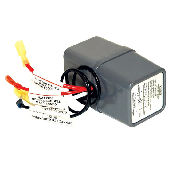 "Pressure Switch with Relay, 12V Only, 1/8"" NPT M Port, (90 PSI On, 120 PSI Off)"