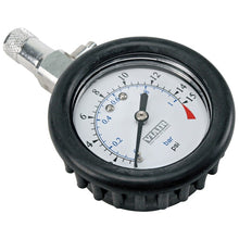 "2.0"" Tire Gauge w/Boot (0 to 15 PSI)"