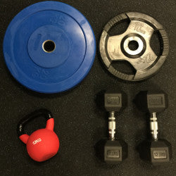 Free Weights and Plates