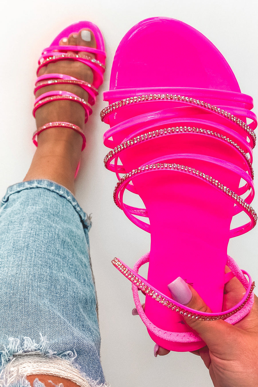Let's Go Barbie Sandals