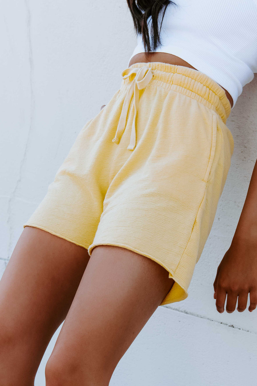 Make It Short Jacquard Shorts