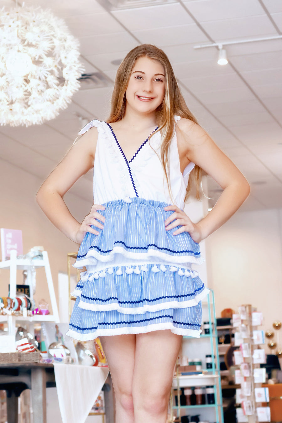 Babydoll Blue Mini