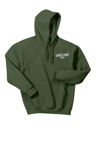 Yawt Yawt Military Green Chillin' Hoodie