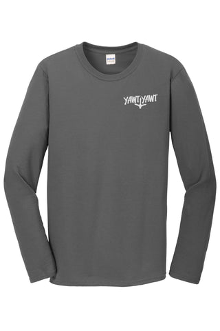Yawt Yawt Charcoal Long Sleeve T