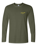 Yawt Yawt Military Green Long Sleeve T