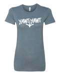 Womens Yawt Yawt Slate Bella Canvas T