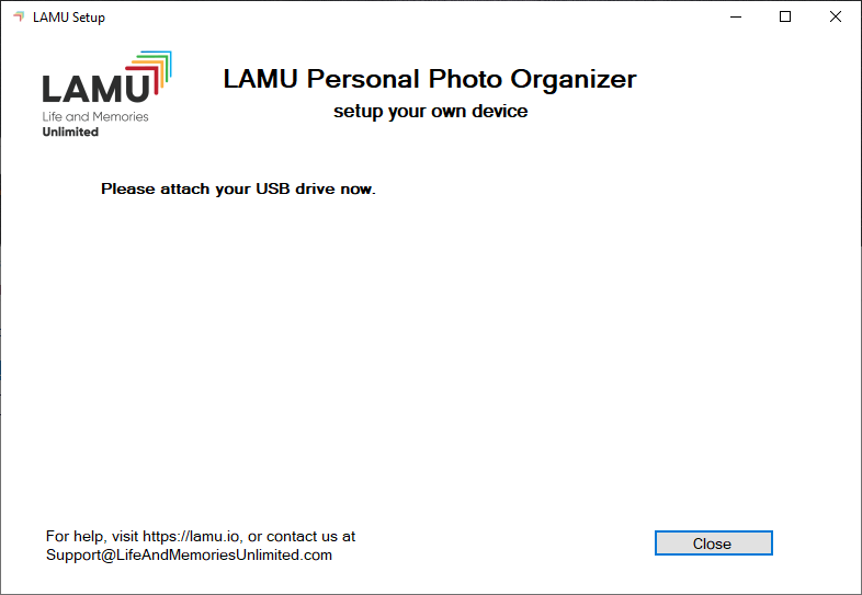 LAMU Device Setup Step 2