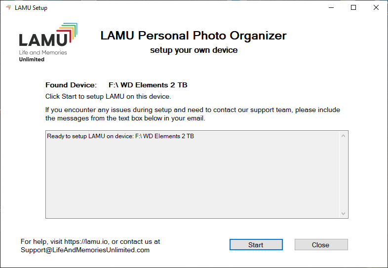 LAMU Device Setup Step 3