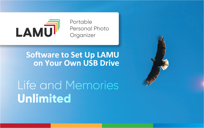 Software to Setup LAMU for Windows on Your Own USB Drive (Any Type/Size)