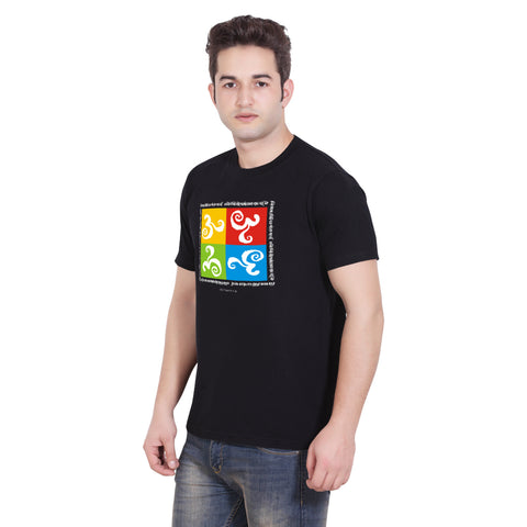 4 Square OM, Men, Cool T Shirt Designs Online Graphic T shirts