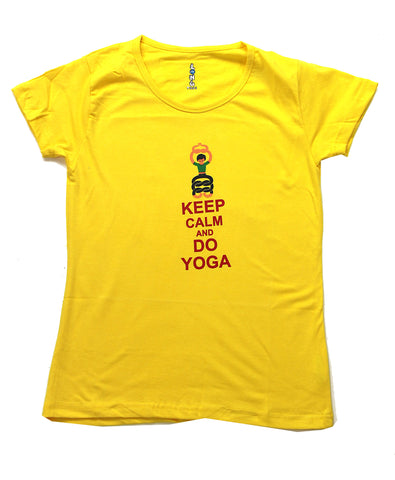 Calm Yoga, Women Cool T Shirt Designs Online Graphic T Shirts