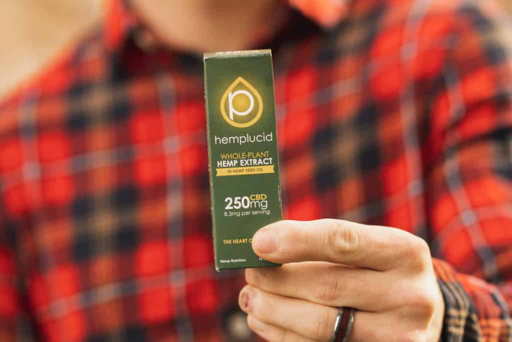 CBD in Hemp Seed Oil