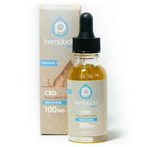 Hemplucid Pets CBD in Fish Oil 100mg